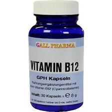 VITAMIN B12 GPH 3 µg Kapseln 30St Kapseln PZN 3379537