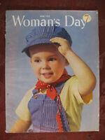 WOMANs DAY magazine June 1952 Richard Sullivan Clyde Robert Bulla