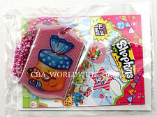NEW Shopkins Collectible Fashion Tags Necklace - Bread Head - Pink Beads