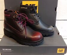 Ladies Caterpillar Melody Lace Up Ankle Boots