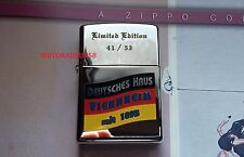 ZIPPO-Allemand Maison-LIMITED!!!