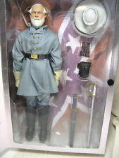 "SIDESHOW 12"" GENERAL ROBERT E LEE FIGURE AMERICAN CIVIL WAR BROTHERHOOD OF ARMS"