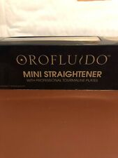 Orofluido Mini Straighteners with professional tourmaline plates new and boxed