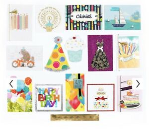 Hallmark 24 All Occasion Handmade Boxed Set of Assorted Greeting Cards