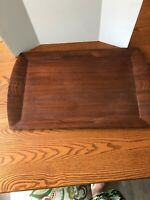 Toastmaster Vintage/Antique Hospitality Wooden Serving Tray - Art Deco