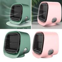 2x Ventilateur De Refroidisseur D'air Portable 3 Vitesses Maison Mini