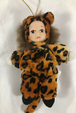 Anne Geddes Rare Vintage 1998 Baby Leopard With Tag