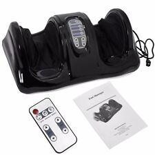 Shiatsu Foot Massager Kneading and Rolling Leg Calf Ankle Remote Black