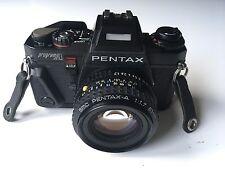 Pentax ProgramA Film Camera & SMC Pentax A 50mm F1.7 MF Lens