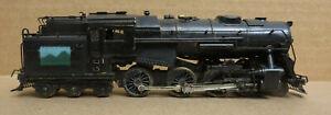 Unknown Brand 4-6-6T Locomotive Very Old Brass HO