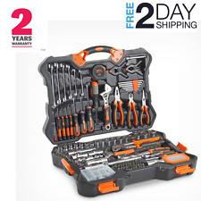 256 PC Premium Tool Socket Set Home Repairs Maintenance DIY Kit Box Case Tool UK