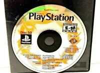 Sony PS1 PlayStation Demo Disc 50 Nov. 2001 (Disc Only)