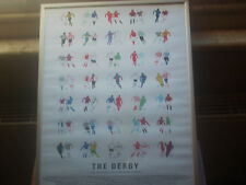 The Derby: Local and National Derbies From around The World framed picture