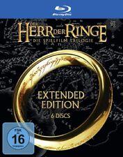 Der Herr der Ringe - Die Spielfilm Trilogie Extended Edition (Blu-Ray, 2020, 6 Discs)