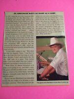 """Ken """"Hawk"""" Harrelson Kansas City Royals Signed AUTOGRAPH AUTO Photograph"""