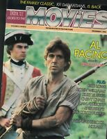 Tribute Goes to the Movies Magazine December 1 1985 Al Pacino Rob Lowe
