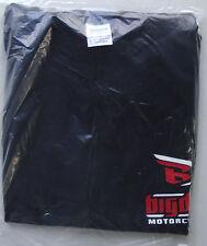 T-shirt Big Dog motorcycle short sleeve size large 100% cotton black