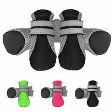 Waterproof Pet Dog Rain Booties Puppy Anti-Slip Mesh Breathable Boots Shoes Set
