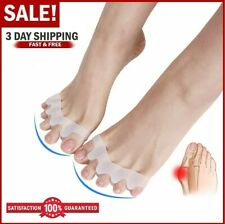 Toe Separator Pedicure Stretcher Spreader Spacer Align Corrector for Toes Bunion