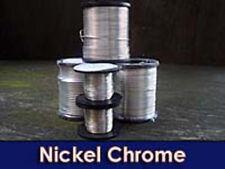 24 SWG Nicromo (Nickel/cromato) FILO PER 2 metri lunghezza 0.56mm DIAMETRO