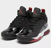 🔥NEW Men's Jordan Maxin 200 Basketball Shoes in Black/Gym Red/White CD6107 001