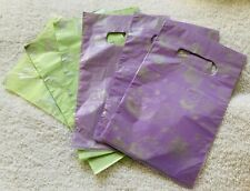 JOB LOT 50 Viola & Verde Hello Kitty in plastica sacchetti regalo gioielli PARTY 20x13cm