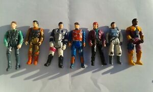 M.A.S.K. Kenner - lot de 7 figurines - 80s vintage