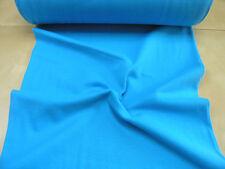 Bündchen • türkis • Baumwoll Jersey glatt uni • 0,5m