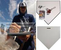 Wil Myers Signed San Diego Padres Logo Baseball Home Plate Base Proof JSA Cert