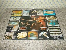 CATALOGO/POSTER GUERRE STELLARI IL RITORNO DELLO JEDI ACTION FIGURE ACCESSORIES