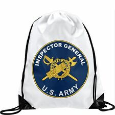 Large Drawstring Bag - US Department of the Army, seal