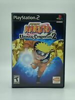 Naruto: Uzumaki Chronicles (PS2 Sony PlayStation 2, 2002 ) Complete Game