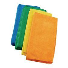 New 4pc Colored Microfiber Cleaning Micro Fiber Cloth 12x12