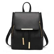 Women Backpack Purse PU Washed Leather Capacity Ladies Rucksack Shoulder Bag