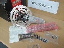 FSA SL-K Carbon Crank Crankset Cycling MTB Triple 22-32-44 9 Speed MegaExo