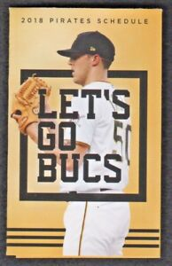 Pittsburgh Pirates 2018 Pocket Schedule featuring - Jameson Taillon
