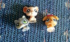 Littlest Pet Shop Teeniest Tiniest Pets Cat Mouse and Dog