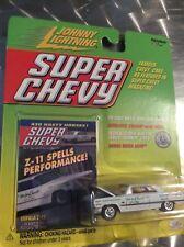 1963 Chevy impala Z-11 johnny lightning super Chevy magazine 2000 w Crager mags