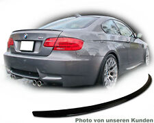 SPOILER Heck passt E92 für BMW M3 COUPE Lackiert Carbonschwarz 416 typ M trunk l