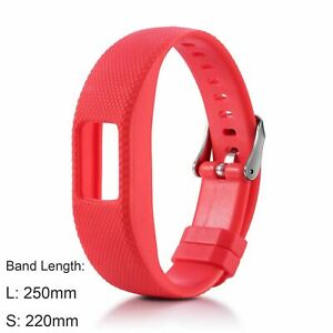 Protective Case Silicone Strap for Garmin Vivofit 4 Watch Band Cover Bumper Belt