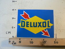 STICKER,DECAL DELUXOL LOGO ARROW PIJL  LARGE