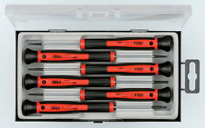 Felo 6pc Mini/Micro Screw Driver Set Made in Germany Slotted & Phillips Lifetime