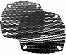 Hogtunes Thick Mesh Front Fairing Speaker Grilles Harley FLH 1998-2013