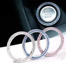 Switch Diamond Ring Silver Decorative Accessories 1x 3cm Car Button Start Stop