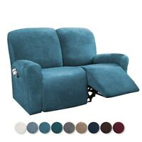 2-seat recliner Cover Sofa Slipcover armrest sofa protector Stretchy Couch Cover