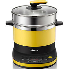 Bear 3.2L DRG-C18Q6 Electric Boiler Skillet Hot Pot Cooker Steamer 电火锅 电蒸锅 电热锅