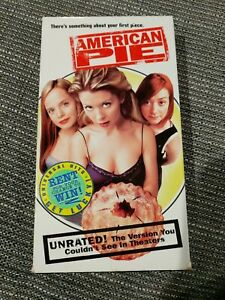 American Pie VHS 2000 Special Edition  Unrated Version