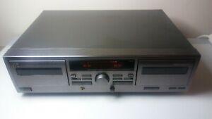Vintage JVC TD-W215 Dual Cassette Deck Tape Player Recorder Dubbing HX PRO Works
