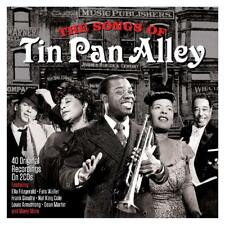 Songs of Tin Pan Alley 2 CD Set 40 Original Recordings on 2 CDs