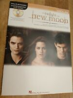 """TWILIGHT-NEW MOON"" INSTRUMENTAL PLAY-ALONG MUSIC BOOK/CD FOR ""VIOLIN""-NEW-SALE!"